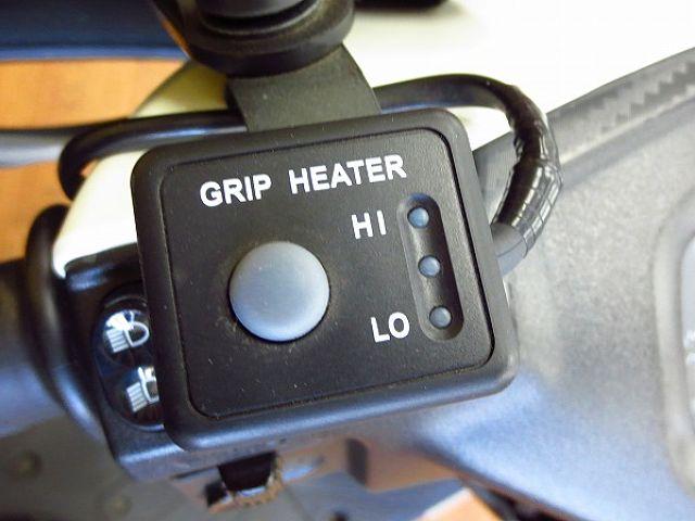 アドレスV125S リミテッド グリップヒーターついてます。暖かいです