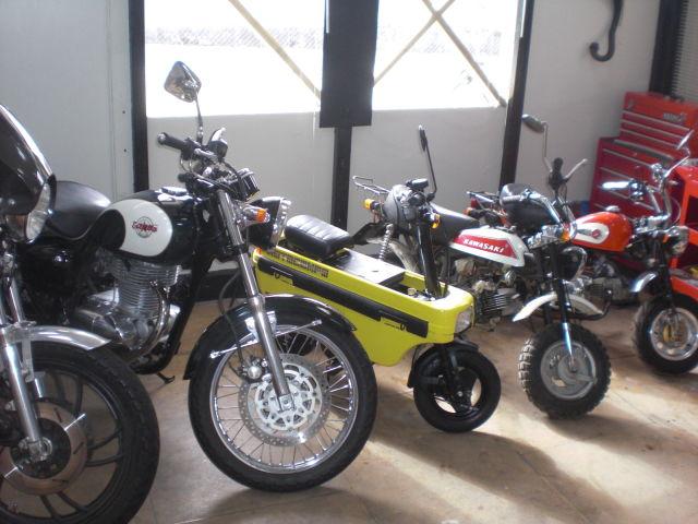 懐かしの昭和のバイク