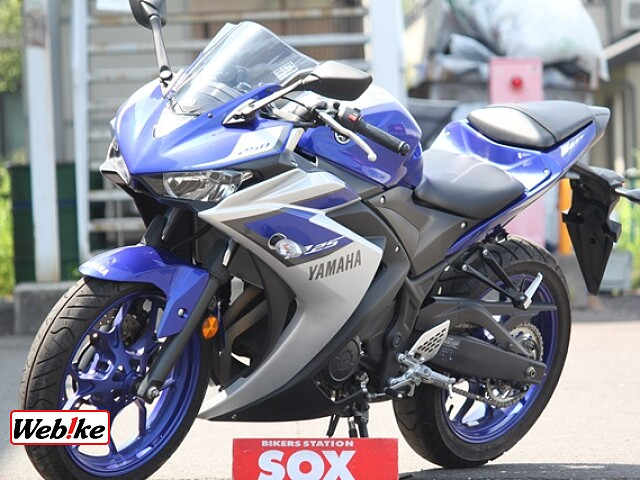 YZF-R25 SP忠男マフラー 4枚目SP忠男マフラー