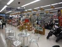 バイク用品店と併設店舗