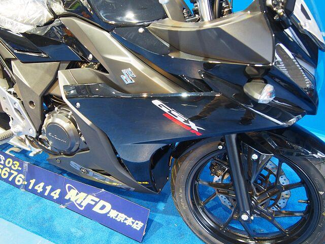 GSX250R M0モデル 人気のブラックモデル