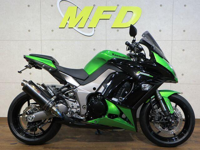 ニンジャ1000 (Z1000SX) ノジマフルエキ2本出しマフラー、前後タイヤや新品に交換します!…