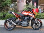 250DUKE/KTM 250cc 東京都 KTM TOKYO EAST(ハックルベリー )【MFDグループ】