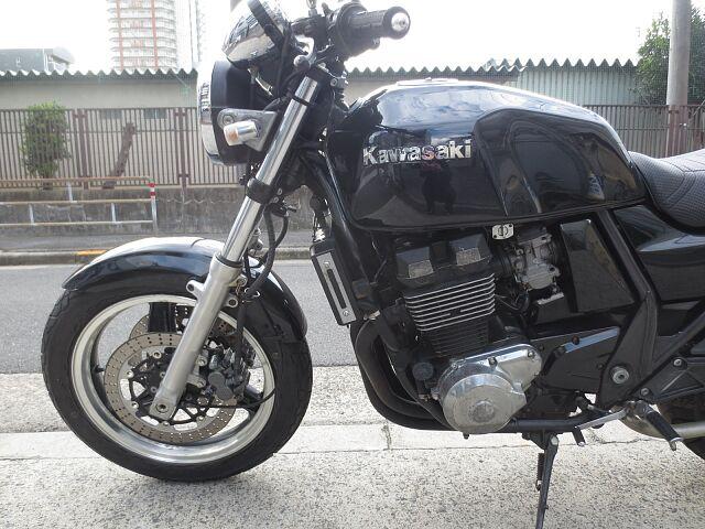 ZRX400II ショート管