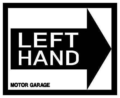 LEFT HAND MOTOR GARAGE レフトハンド モーターガレージ