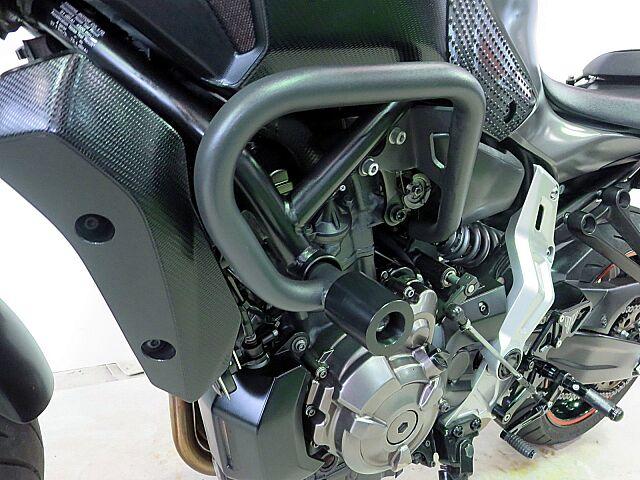 MT-07 エンジンガード バックステップ キャリア