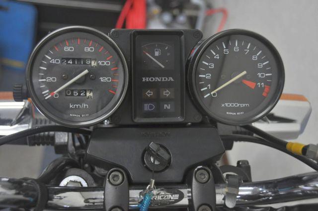 CBX125 3ヶ月又は3000kmの保証付き。