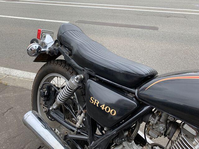 SR400 初期型US仕様製作中!