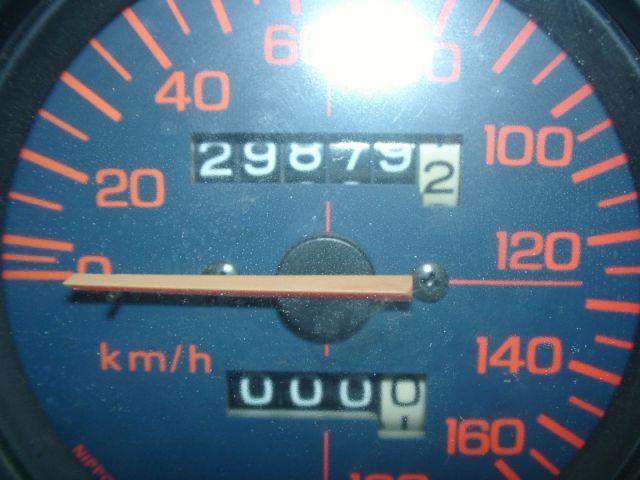 NS250 指針折れの為交換、交換前20711kmの実距離です。
