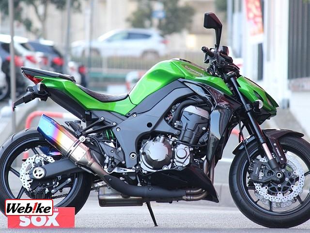 Z1000 (水冷) ABS トリックスターマフラー ハイパープロステダン 1枚目ABS トリックス…