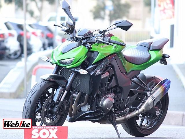 Z1000 (水冷) ABS トリックスターマフラー ハイパープロステダン 5枚目ABS トリックス…