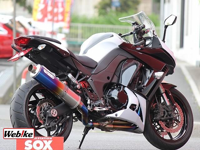 ニンジャ1000 (Z1000SX) ノジマフルエキ 2枚目ノジマフルエキ