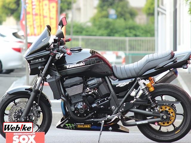 ZRX1200ダエグ カスタム多数 4枚目カスタム多数