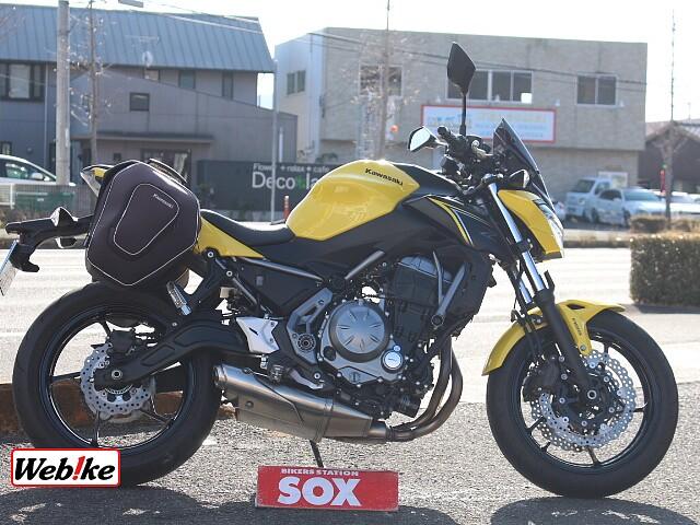 Z650 純正ツーリングバック装備 1枚目純正ツーリングバック装備