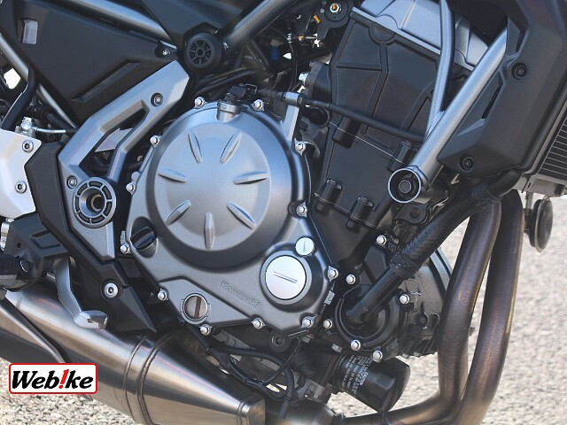 Z650 純正ツーリングバック装備 3枚目純正ツーリングバック装備