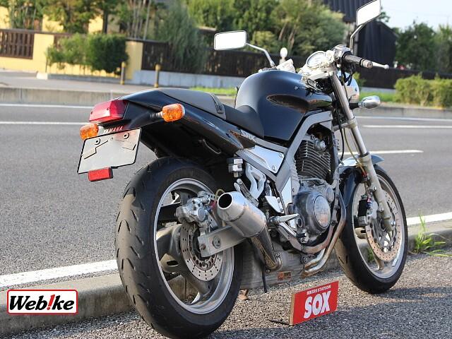 SRX400 ヨシムラサンパーマフラー付 4枚目ヨシムラサンパーマフラー付