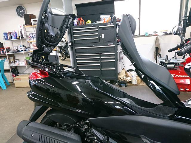 マジェスティ250(SG20J) ETC装着車