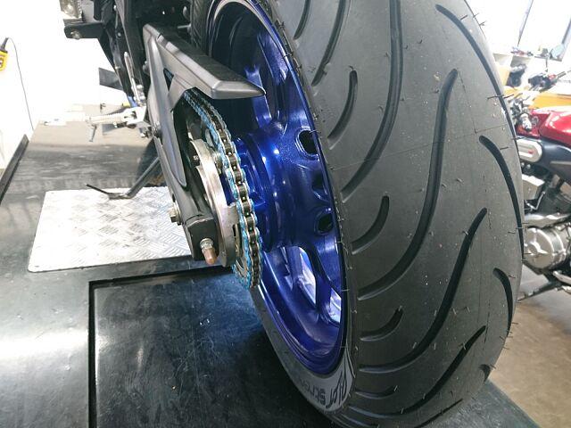 YZF-R25 SPタダオマフラー・フェンダレスKIT Rタイヤ・ブレーキパッド交換済み