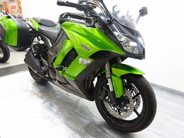 ニンジャ1000 (Z1000SX) Ninja 1000 ABS 純正オプションパニア付き