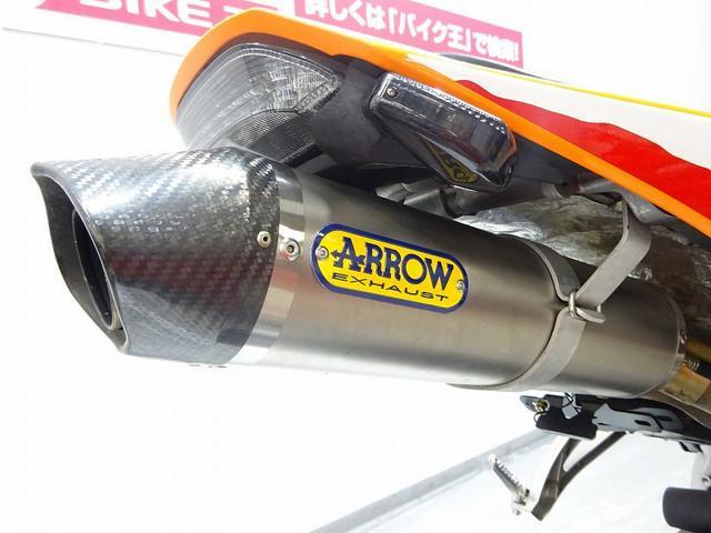 CBR600RR CBR600RRスペシャル 逆車・アローマフラー装備