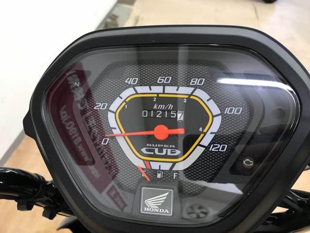 クロスカブ110 クロスカブ110 メーター表示距離:1215km!
