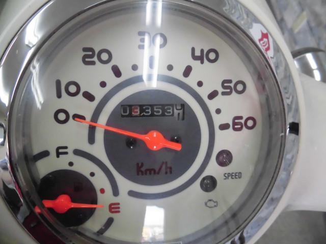 ジョルノ ジョルノ AF70型 メーター表示距離:3352km!