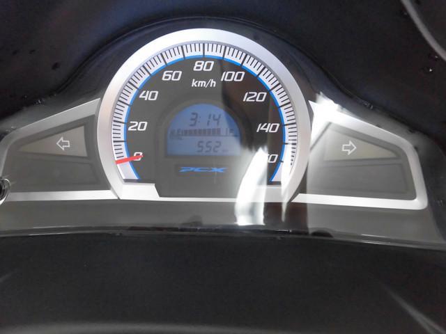 PCX125 PCX JF56型 大型スクリーン パニア メーター表示距離:552km!