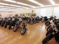 大型バイク(ハーレー)も多数在庫!