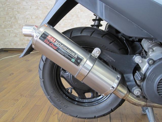 アドレスV125 アドレスV125G ヨシムラ製マフラー装備