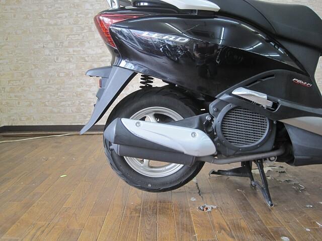 リード110(EX) リード110 2009年式モデル 通勤通学に便利なスクーター! 4枚目:リード…
