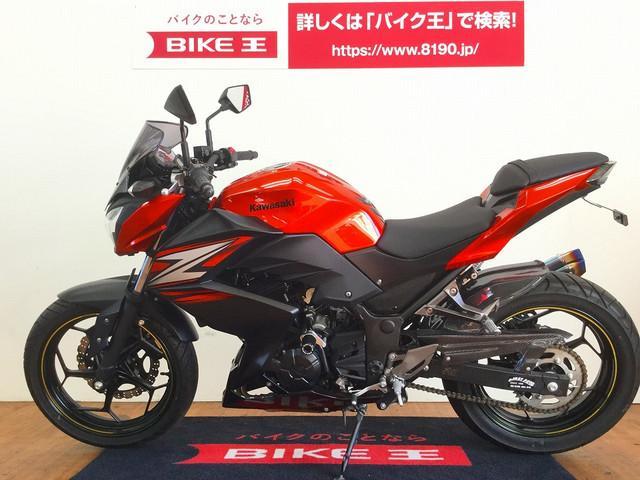 ニンジャ250 Ninja 250 マフラーカスタム
