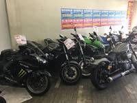 原付から大型バイクまで幅広く取り扱い!