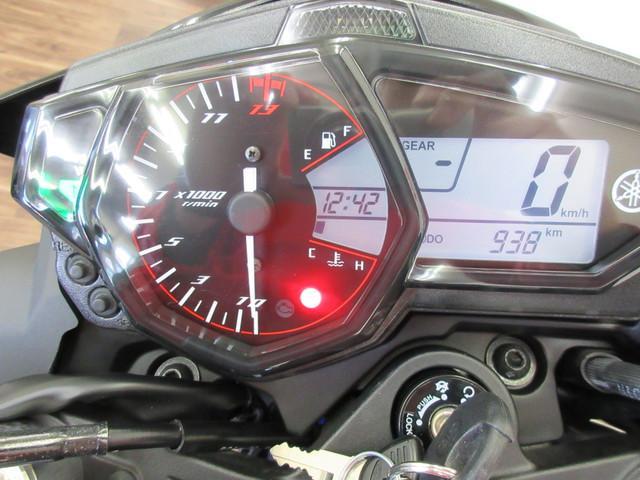 MT-03 MT-03(320cc) フレームスライダー装備 メーター表示距離:939km!