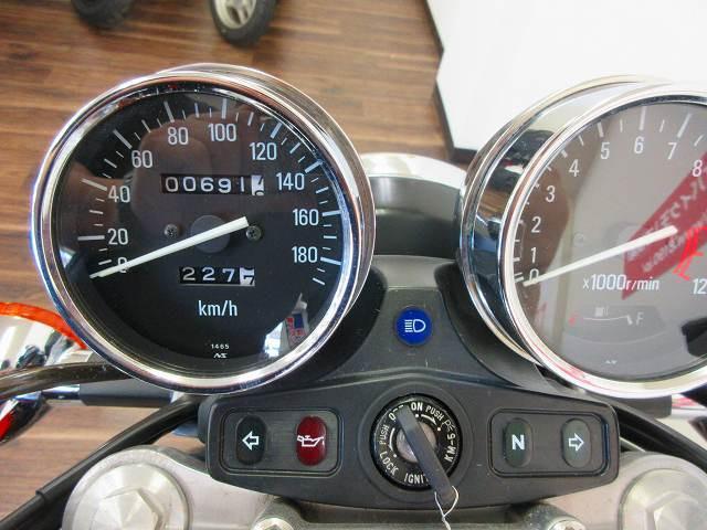ゼファー750 ZEPHYR750 ファイナルエディション フルノーマル メーター表示距離:691k…