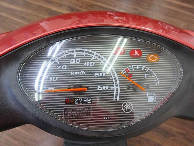 ジョグ JOG ノーマル メーター表示距離:3279km!