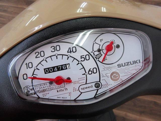 レッツ(4サイクル) レッツ メーター表示距離:476km!