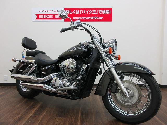 シャドウクラシック400 シャドウ400クラシック サドルバッグ・バックレスト装備 全国のバイク王か…