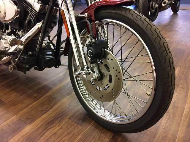 FXSTS SPRINGER SOFTAIL FXSTS スプリンガーソフテイル バックレスト装備
