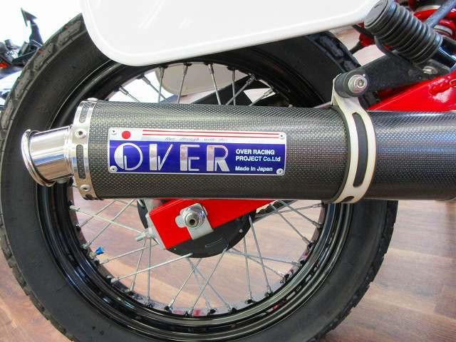 FTR223 FTR223 OVERマフラー タコメーターカスタム OVERマフラー装備