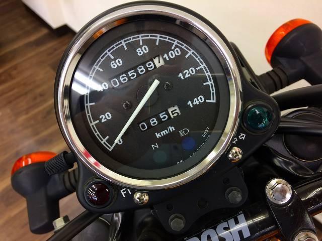 250TR 250TR インジェクションモデル ハンドルカスタム メーター表示距離:6589km!