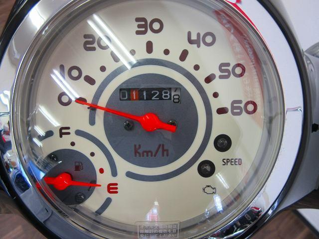ジョルノ ジョルノ メーター表示距離:1128km!