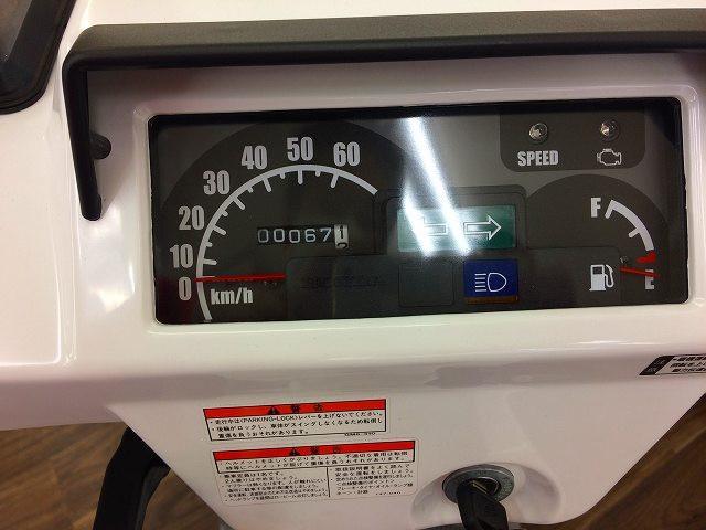 ジャイロX スタンダード ジャイロXスタンダード 純正オプションリアボックス装備 メーター表示距離:…