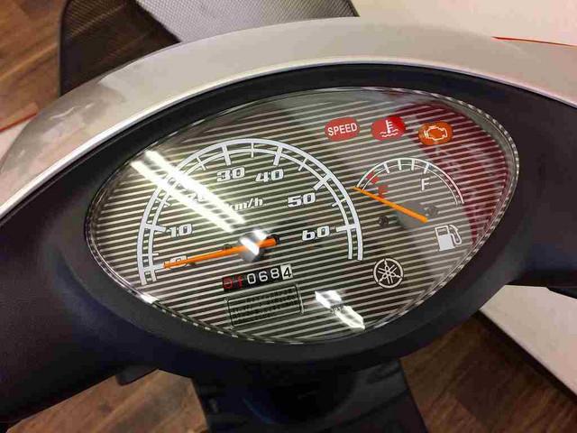 ジョグ JOG リアボックス装備 メーター表示距離:1068km!
