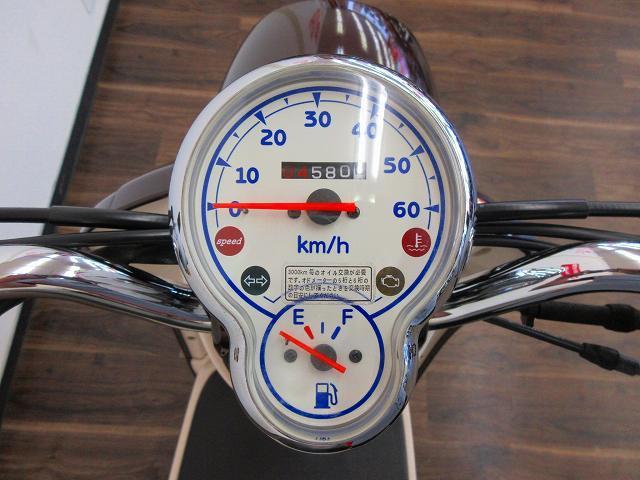 ビーノデラックス ビーノDX メーター表示距離:4579km!