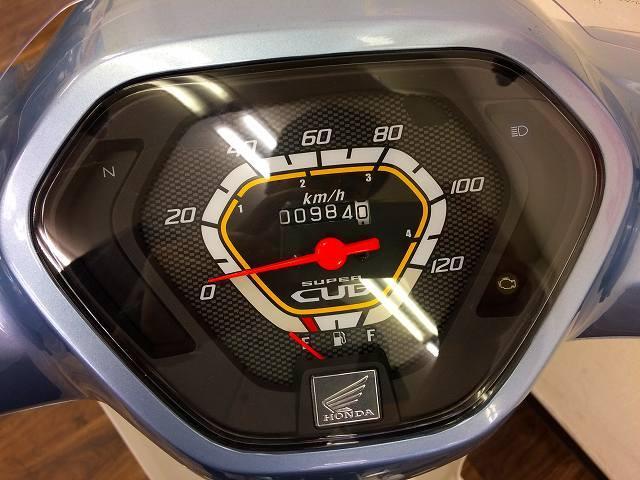 スーパーカブ110 スーパーカブ110 メーター表示距離:983km!