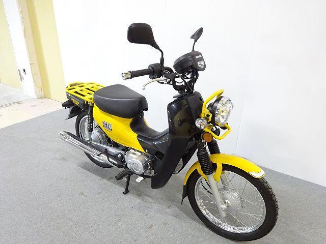 クロスカブ110 クロスカブ110 黄色 ノーマル バイク王の中古車両は安心の保証付き!最長7年から…