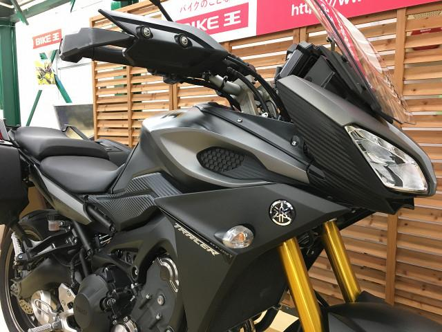 MT-09 トレーサー トレイサー900(MT-09トレイサー)Y'Sギア製ハイスクリーン サイドケ…