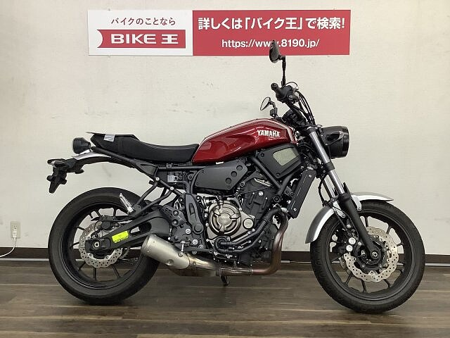 XSR700 XSR700【マル得】2017年モデル ネオレトロなネイキッド… 1枚目:XSR700…