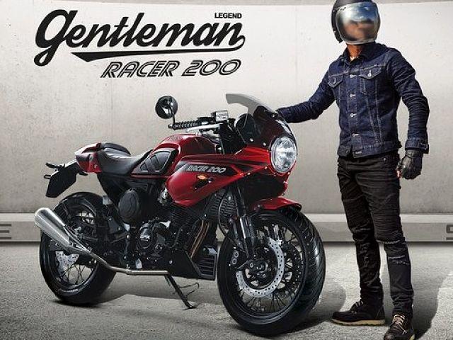 Gentleman Racer 200 全車種/全カラー展示!試乗できます