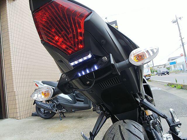 YZF-R25 フェンダーレスUSBバーLEDヘッドライト社外Fフォー付き